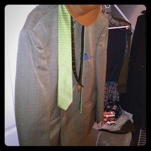 Olive men's suit